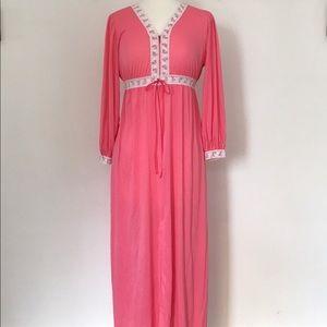 Vintage Bubblegum Pink Nightgown